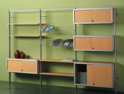 Envision Shelving, Peter Pepper