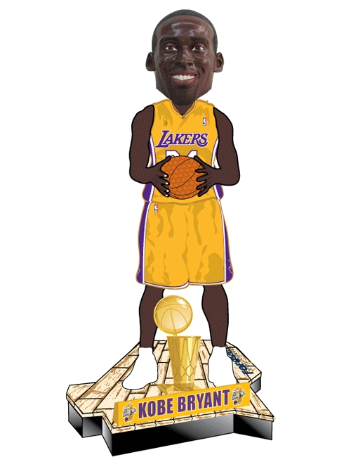 Life-sized Kobe Bobble