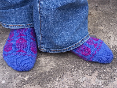 Piscean Socks with jeans