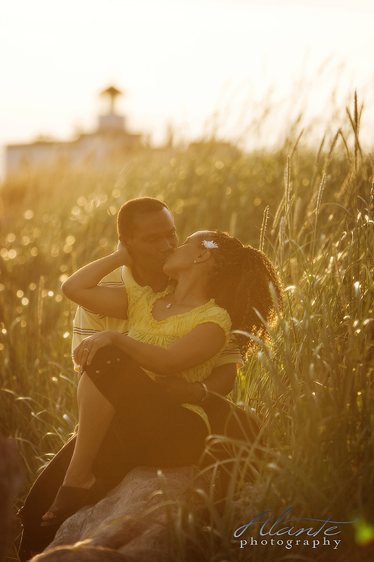 Seattle engagement photo session at discovery park