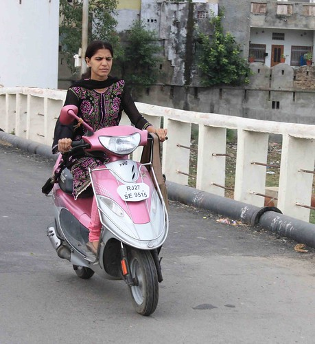 The Scooter Women of Udaipur