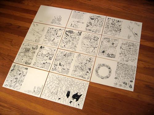 Zine Drawings