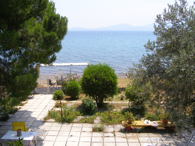 Our summer house, at Potitika, Evia. Sea view