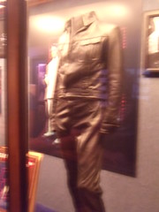 The famous leather suit