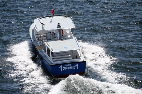 Tender Boat 1 - Cabo San Lucas