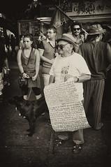 Attenti, gridiamo NO AL PONTE! - http://marcocrupifoto.blogspot.com/ (Marco Crupi88) Tags: street blackandwhite italy black sepia blackwhite italia no bn ponte prc artistica bianco sicilia messina comunista vecchio bandiera seppia rifondazione anziano strettodimessina noponte noalponte anarchici anarchico