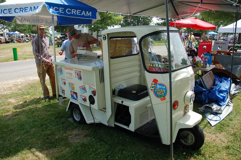 Heritage Ice Cream Car Show