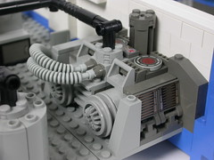 Ship System Equipment (brickfrenzy) Tags: ship lego space explorer massive huge moc