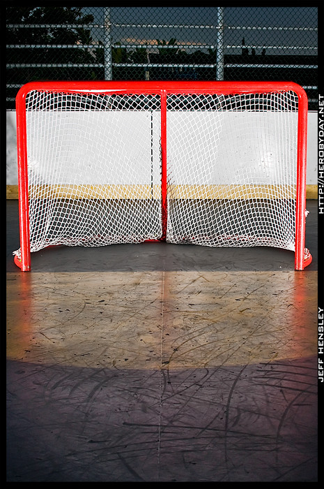 Day 294/365 - Hockey Goal