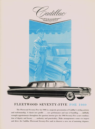1960 Cadillac Fleetwood Limousine