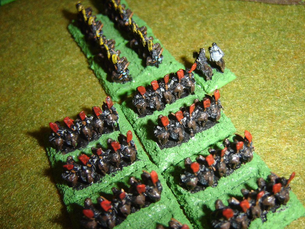 Takeda continue rampant charge into Oda cavalry