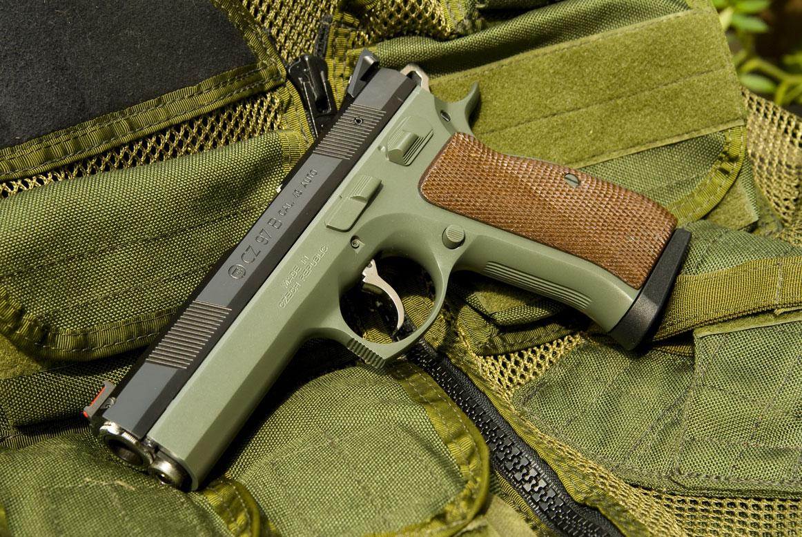 Just a picture, cusotm CZ-97b - AR15 COM