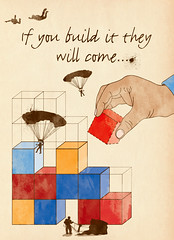 Illustration Friday - Flying (Hi Ni) Tags: illustration photoshop flying drawing quote retro doodle illustrationfriday if illustrator cubes parachuting strategy parachute motivate construct fieldofdreams buildingblocks artprint cs3 kevincostner parachuter nyhagraphics naomicrobinson bookcoverimage
