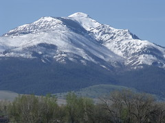 Strawberry Mountain - This 9,000 foot peak looms up above the headwaters of the John Day River, near Prairie City, OR