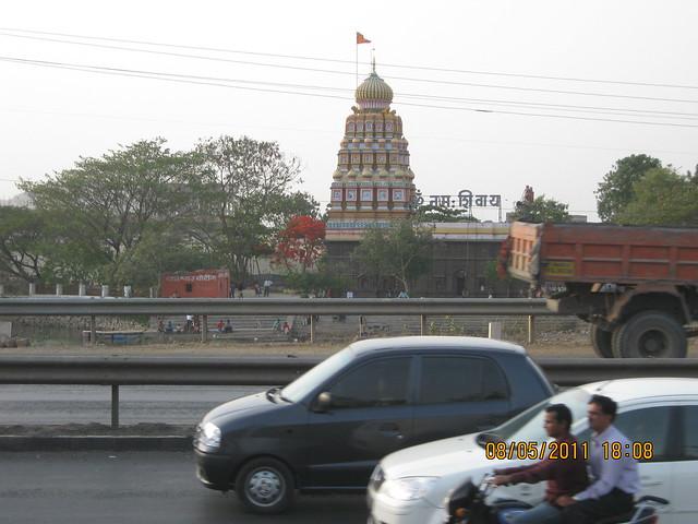 Wagheshwar or 'Wyaghreshwar' Mandir Wagholi - Suyog Lucky Homes - 1 BHK 2 BHK 3 BHK Flats - near Moze College - Wagholi - Nagar Road - Pune - is on the opposite side!