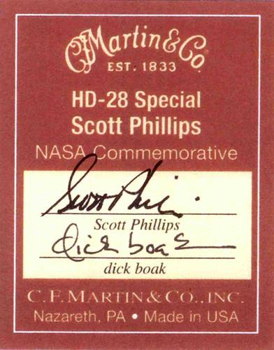 CF Martin Label 1