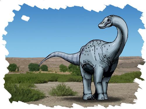 Titanosaurid by Ezequiel Vera