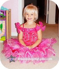 E1276_Pageant Glitz Baby doll Cupcake Girls' Dress