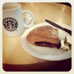 A very deserved Starbucks breakfast!!!