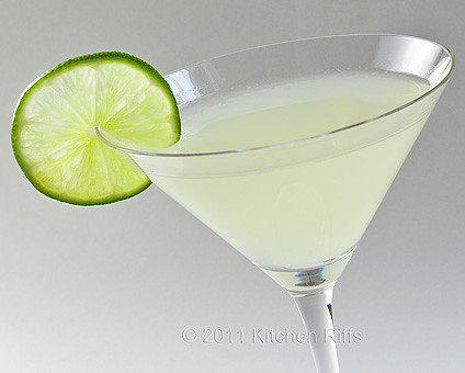 Daiquiri Cocktail in classic cocktail glass