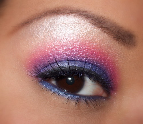 pink and blue 120 eyeshadow palette