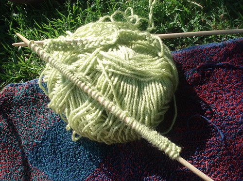 mystery project knitting