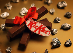 Kit Kat 1 (Mashael Al-Shuwayer) Tags: food digital canon eos 50mm candy chocolate saudi arabia cocoa kitkat saudiarabia nestle alkhobar 400d mashael alshuwayer