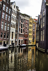 Reflections of Amsterdam (` Toshio ') Tags: windows house holland color home water netherlands dutch amsterdam architecture buildings reflections river boats boat canal alley colorful europe european thenetherlands hdr europeanunion flanders toshio northholland highdynamicresolution