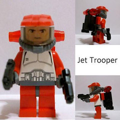 Clone Jet Trooper_The Knight (Fine Clonier) Tags: minifig custom kam clone droid clonewars minifigure kaminoan