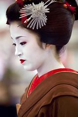 Baikasai (The plum-blossom festival) #21 (Onihide) Tags: kyoto baikasai kamishichiken ichimame sakkou 市まめ