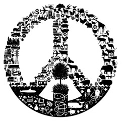 Keep the Faith (von_brandis) Tags: nature animal peace mechanical symbol icon manmade peacesign fragile iconography manvsnature keepthefaith tonichilds