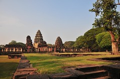 Phimai complex....looking back