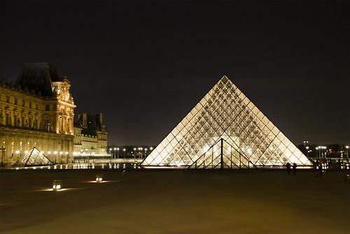 Musée du Louvre, Soir