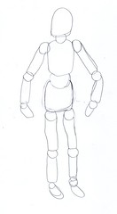 drawing poseable figure4