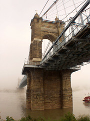 Roebling Bridge Fog (cfegerton) Tags: ourkentucky