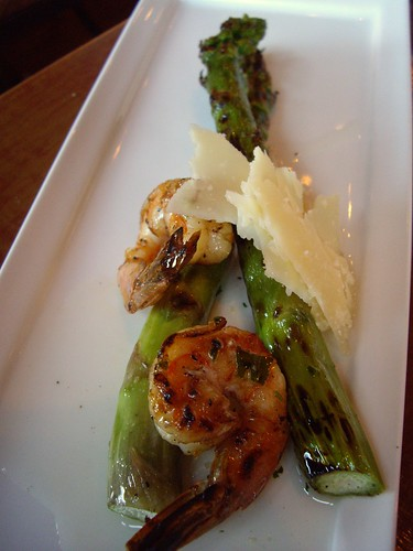 Grilled Shrimp and Asparagus