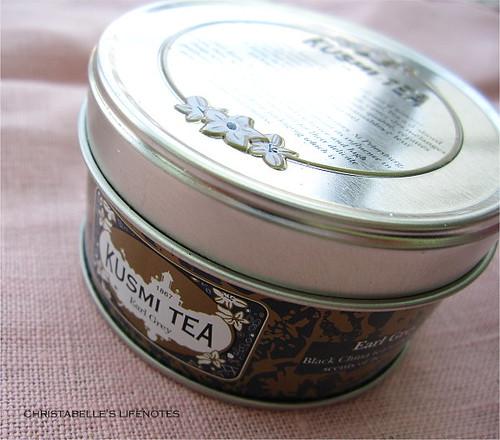 kusmitea茶罐