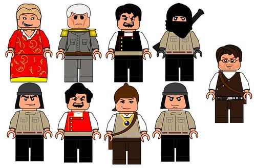 Lego Myst custom minifig concepts