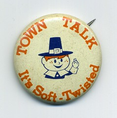 Town Talk button