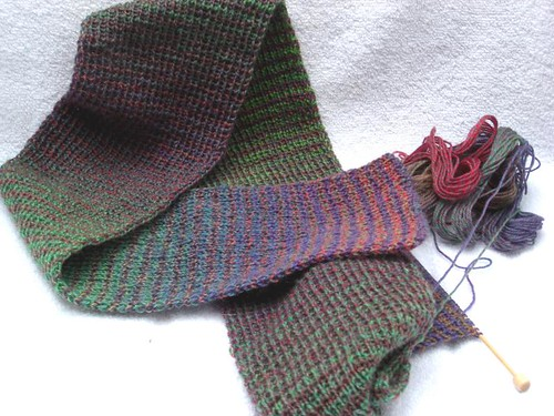 Two Row Scarf #!