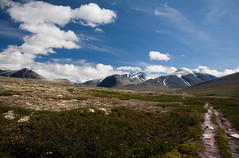 Mountains of Rondane |   (Anatoly Kraynikov) Tags: road cloud mountain norway scenery july scandinavia soe lanscape rondane supershot diamondclassphotographer rubyphotographer