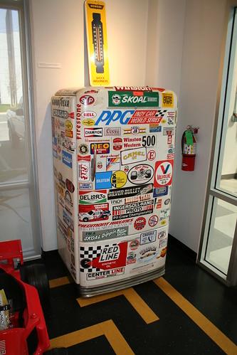 Riverside Raceway Refrigerator