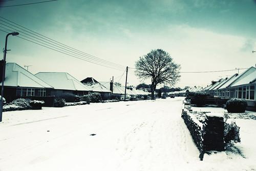 Ashurst in snow 3