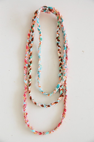 Necklaces Made From Fabric