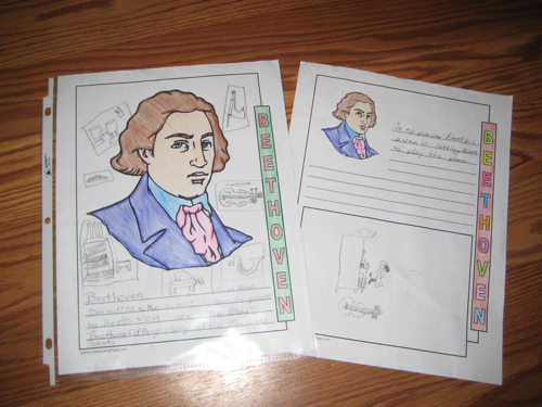 Zippy's Beethoven pages