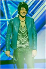 Michael Jackson Week - Adam Lambert (brilindberg) Tags: michaeljackson americanidol blackorwhite adamlambert