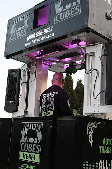 Rhino Cubes Media Edition DJ station by rhinocubes