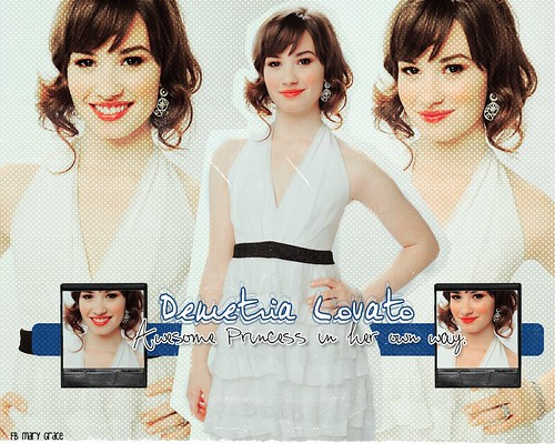 Demi Lovato by Icyprincess<3.