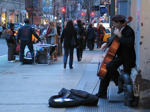 Cello Solo, Soho, NYC