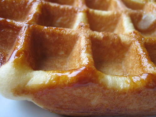 LimeyG | writing about eating: Belgian sugar waffle @ Mr Crepe